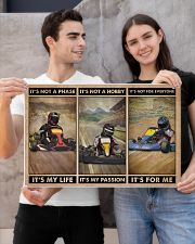 Kart Racing It's Not A Phase 24x16 Poster poster-landscape-24x16-lifestyle-21