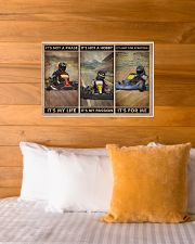 Kart Racing It's Not A Phase 24x16 Poster poster-landscape-24x16-lifestyle-27