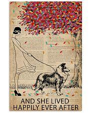 Live Happily Vintage Dictionary Shetland Sheepdog 11x17 Poster thumbnail