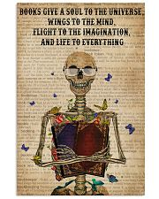 Dictionary Life To Everything Reading Skeleton 11x17 Poster front
