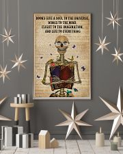 Dictionary Life To Everything Reading Skeleton 11x17 Poster lifestyle-holiday-poster-1
