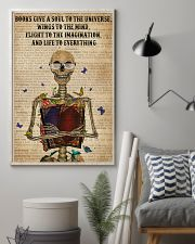 Dictionary Life To Everything Reading Skeleton 11x17 Poster lifestyle-poster-1