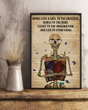 Dictionary Life To Everything Reading Skeleton 11x17 Poster lifestyle-poster-3