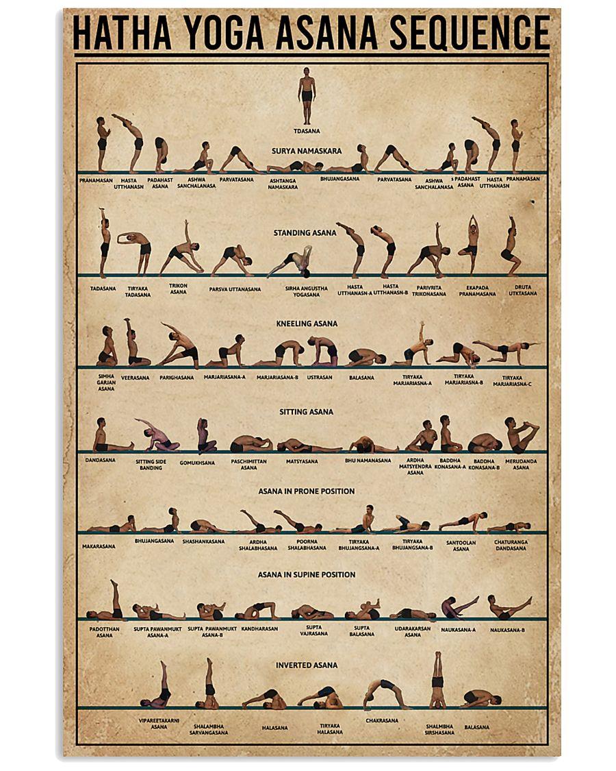 Hatha Yoga Asana Sequence