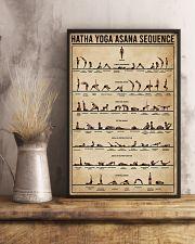 Hatha Yoga Asana Sequence 16x24 Poster lifestyle-poster-3