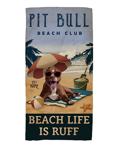 Vintage Beach Club Is Ruff Pit Bull