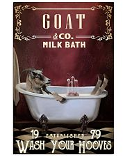 Red Milk Bath Goat 11x17 Poster front