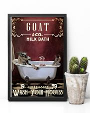 Red Milk Bath Goat 11x17 Poster lifestyle-poster-8