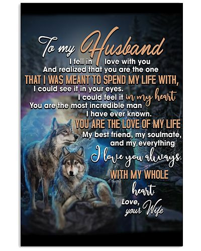 To My Husband You Are The Love Of My Life Wolf