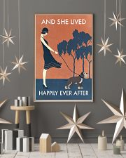 Vintage Girl She Lived Happily Miniature 11x17 Poster lifestyle-holiday-poster-1