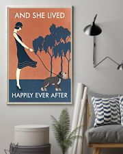 Vintage Girl She Lived Happily Miniature 11x17 Poster lifestyle-poster-1