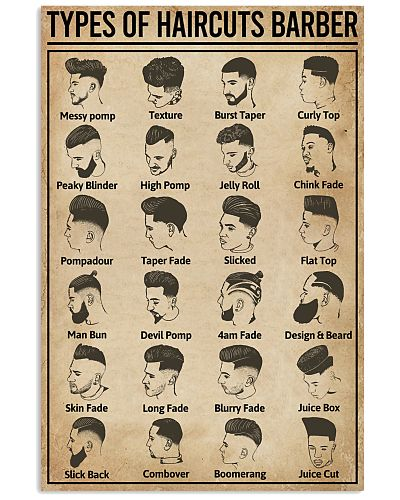 Types Of Haircuts Barber
