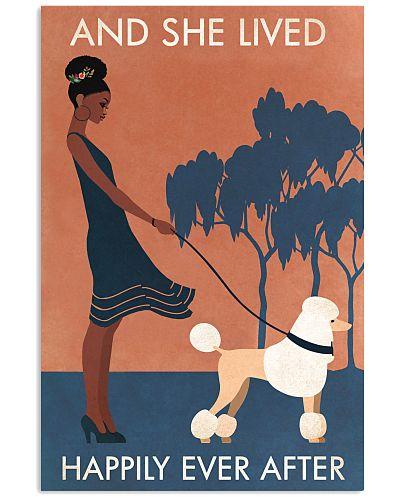 Black Girl Lived Happily Poodle