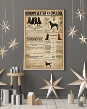 Gordon Setter Knowledge 11x17 Poster lifestyle-holiday-poster-1