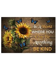 You Can Be Anything Be Kind Butterfly 24x16 Poster front