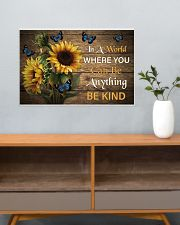 You Can Be Anything Be Kind Butterfly 24x16 Poster poster-landscape-24x16-lifestyle-25