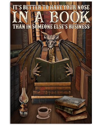 Have Your Nose In A Book Dragon