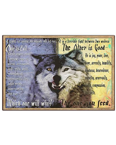 The One You Feed Which One Will Win Two Wolves