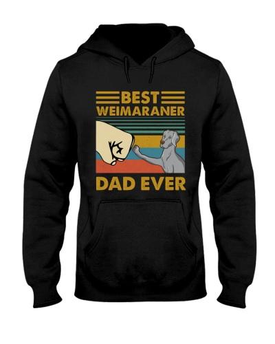 Retro Blue Best Weimaraner Dad Ever