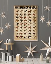 Horse Breeds Of The World 16x24 Poster lifestyle-holiday-poster-1