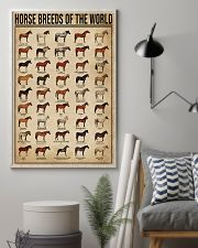 Horse Breeds Of The World 16x24 Poster lifestyle-poster-1