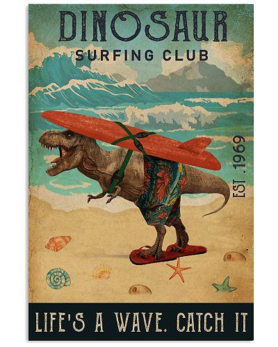 Surfing Club Dinosaur