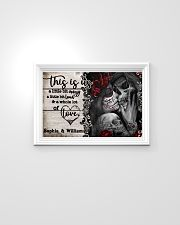 Personalize Skeleton A Little Bit Of 24x16 Poster poster-landscape-24x16-lifestyle-02