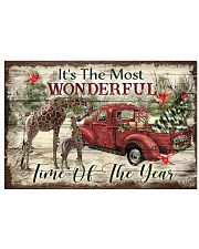 It's The Most Wonderful Time Of The Year Giraffe 24x16 Poster front
