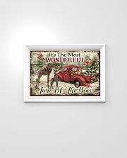 It's The Most Wonderful Time Of The Year Giraffe 24x16 Poster poster-landscape-24x16-lifestyle-02