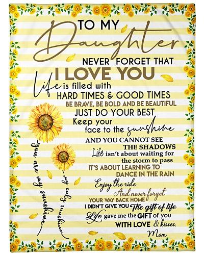 Pallet Daughter Never Forget Mom Loves Sunflower