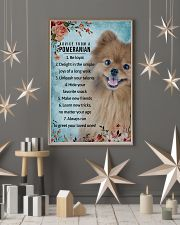 Advice From A Pomeranian 11x17 Poster lifestyle-holiday-poster-1