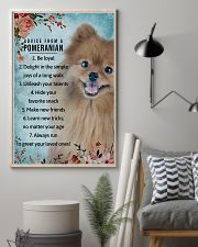 Advice From A Pomeranian 11x17 Poster lifestyle-poster-1