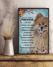 Advice From A Pomeranian 11x17 Poster lifestyle-poster-3
