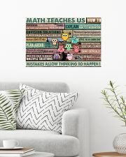Colorful Pallet Owl Math Teaches Us 24x16 Poster poster-landscape-24x16-lifestyle-01