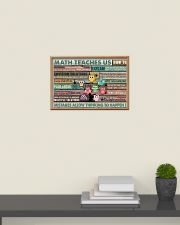 Colorful Pallet Owl Math Teaches Us 24x16 Poster poster-landscape-24x16-lifestyle-09