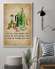 Dictionary Make Some Dirt Hiking 11x17 Poster lifestyle-poster-1