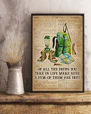 Dictionary Make Some Dirt Hiking 11x17 Poster lifestyle-poster-3