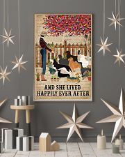 Dictionary Lived Happily Gardening Dog 16x24 Poster lifestyle-holiday-poster-1