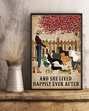 Dictionary Lived Happily Gardening Dog 16x24 Poster lifestyle-poster-3