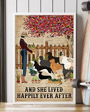 Dictionary Lived Happily Gardening Dog 16x24 Poster lifestyle-poster-4