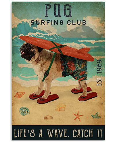 Surfing Club Pug
