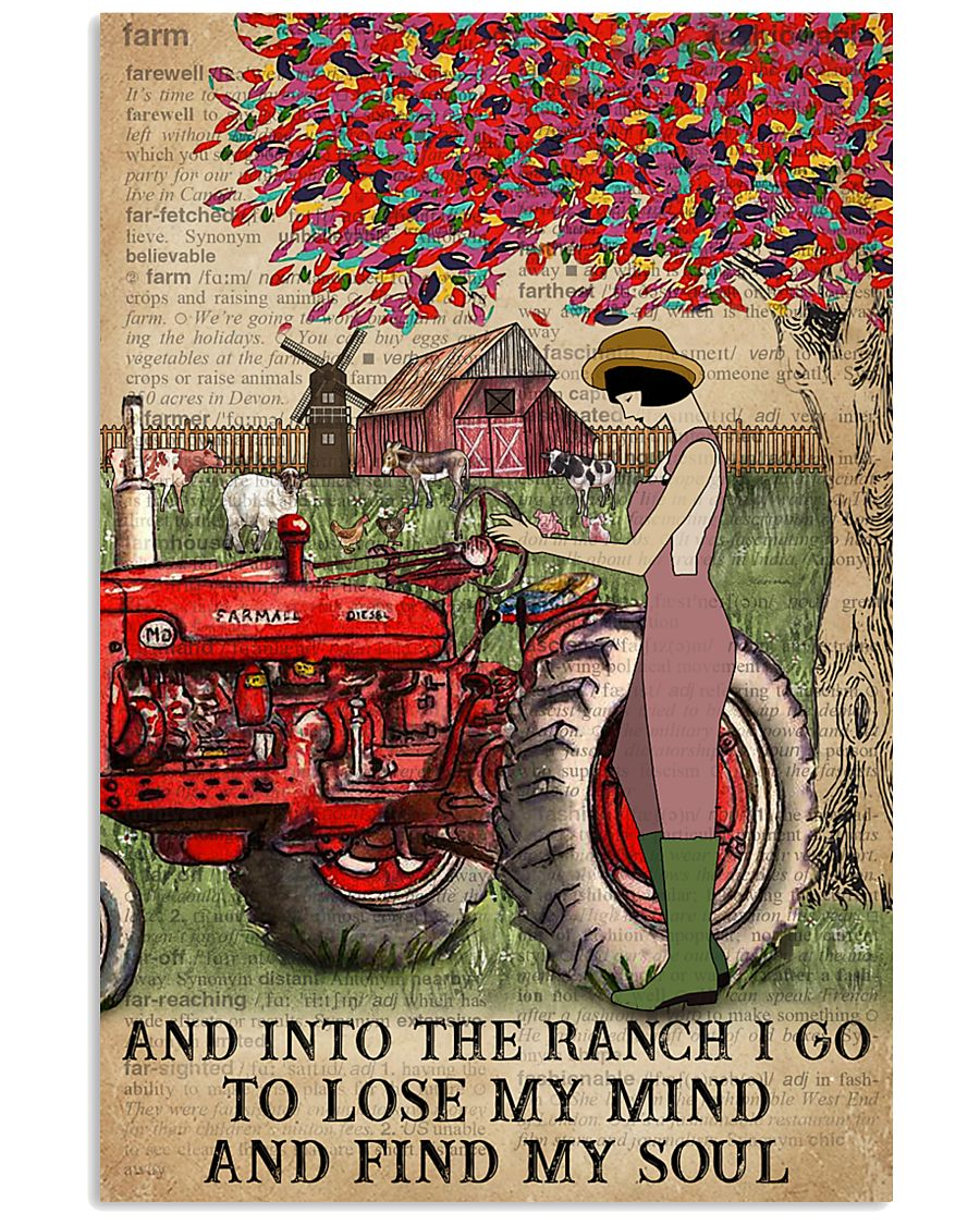 Dictionary Find My Soul Farm Girl 11x17 Poster