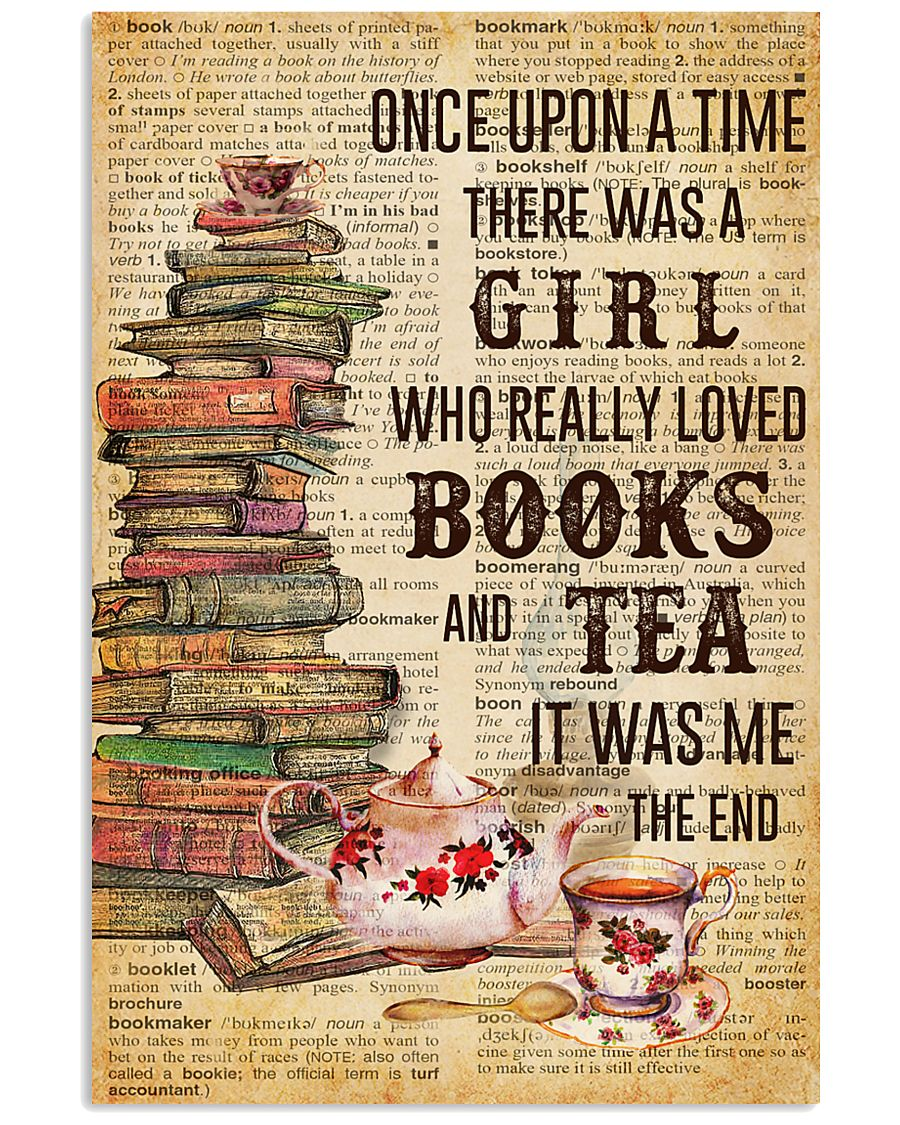 Books And Tea Once Upon A Time 11x17 Poster