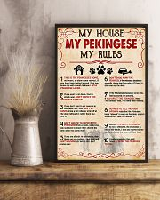 My Pekingese My House My Rules 11x17 Poster lifestyle-poster-3