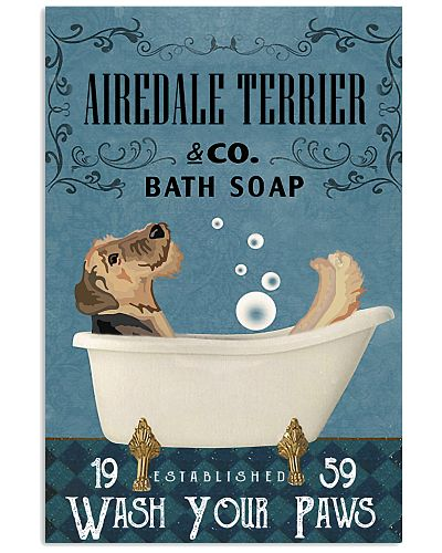 Bath Soap Company Airedale Terrier