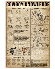 Cowboy Knowledge 11x17 Poster front