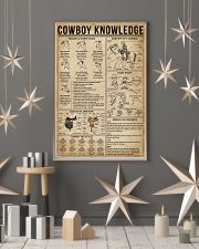 Cowboy Knowledge 11x17 Poster lifestyle-holiday-poster-1