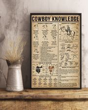 Cowboy Knowledge 11x17 Poster lifestyle-poster-3