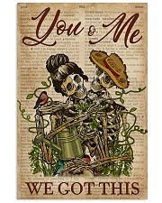 Dictionary We Got This Skull Couple 11x17 Poster front