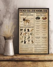 Knowledge French Bulldog 11x17 Poster lifestyle-poster-3